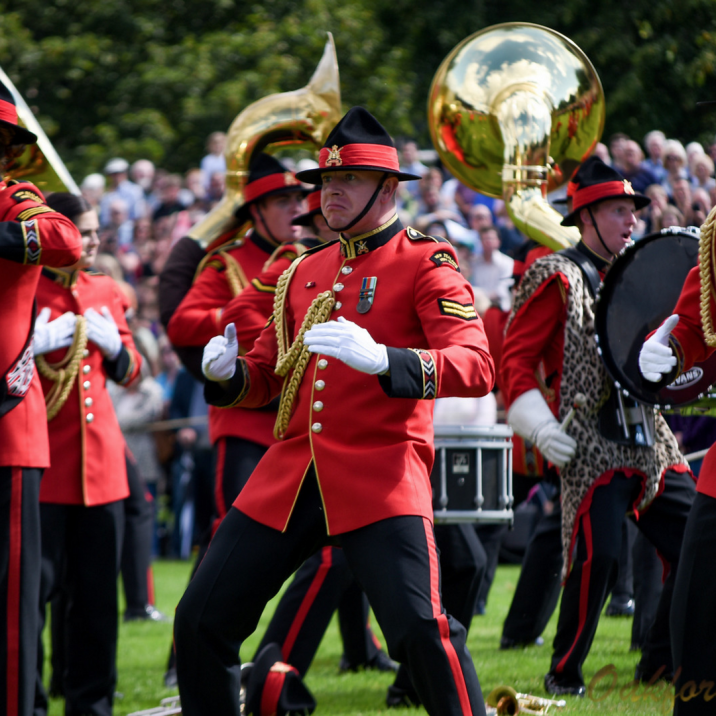 The Royal Edinburgh Military Tattoo put on a fantastic display on the North Inch in Perth.