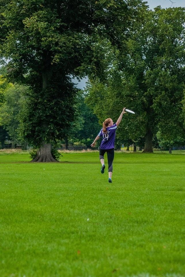 REBECCA - Extreme Frisbee