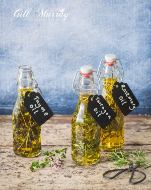 Homemade Herb Oils