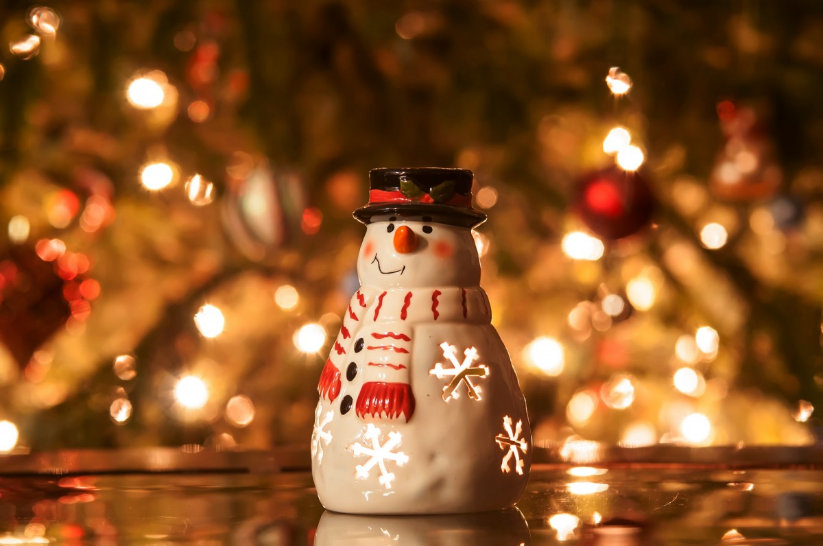CHRISTMAS STOCK IMAGES - Snowman