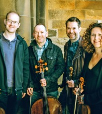 The classical quartet explore folk.
