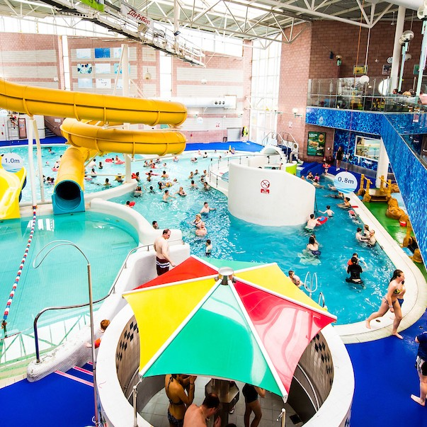 Perth Leisure Pool in the present day.  It's a fantastic facility to have here in Perth and we are very proud to be celebrating 50 successful years with LAL.
