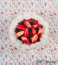 Autumn Fruit Pavlova