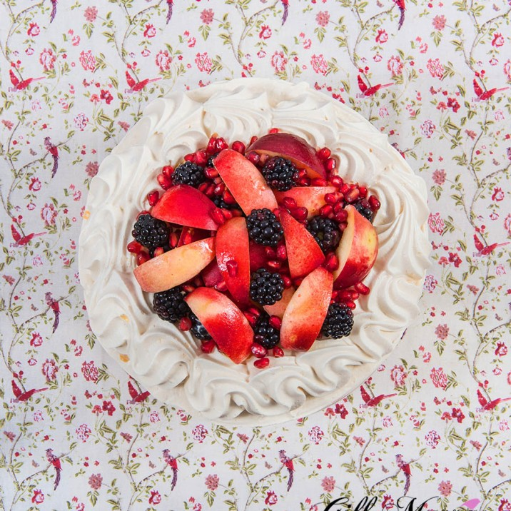 Autumn Fruit Pavlova - On its own
