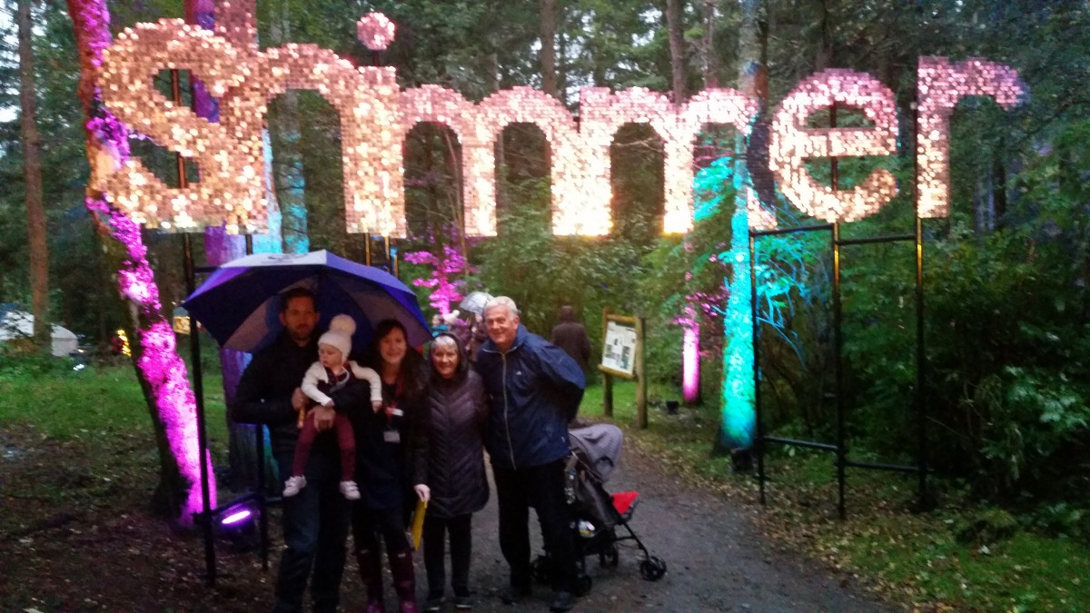 Enchanted Forest 2016 family under Simmer sign