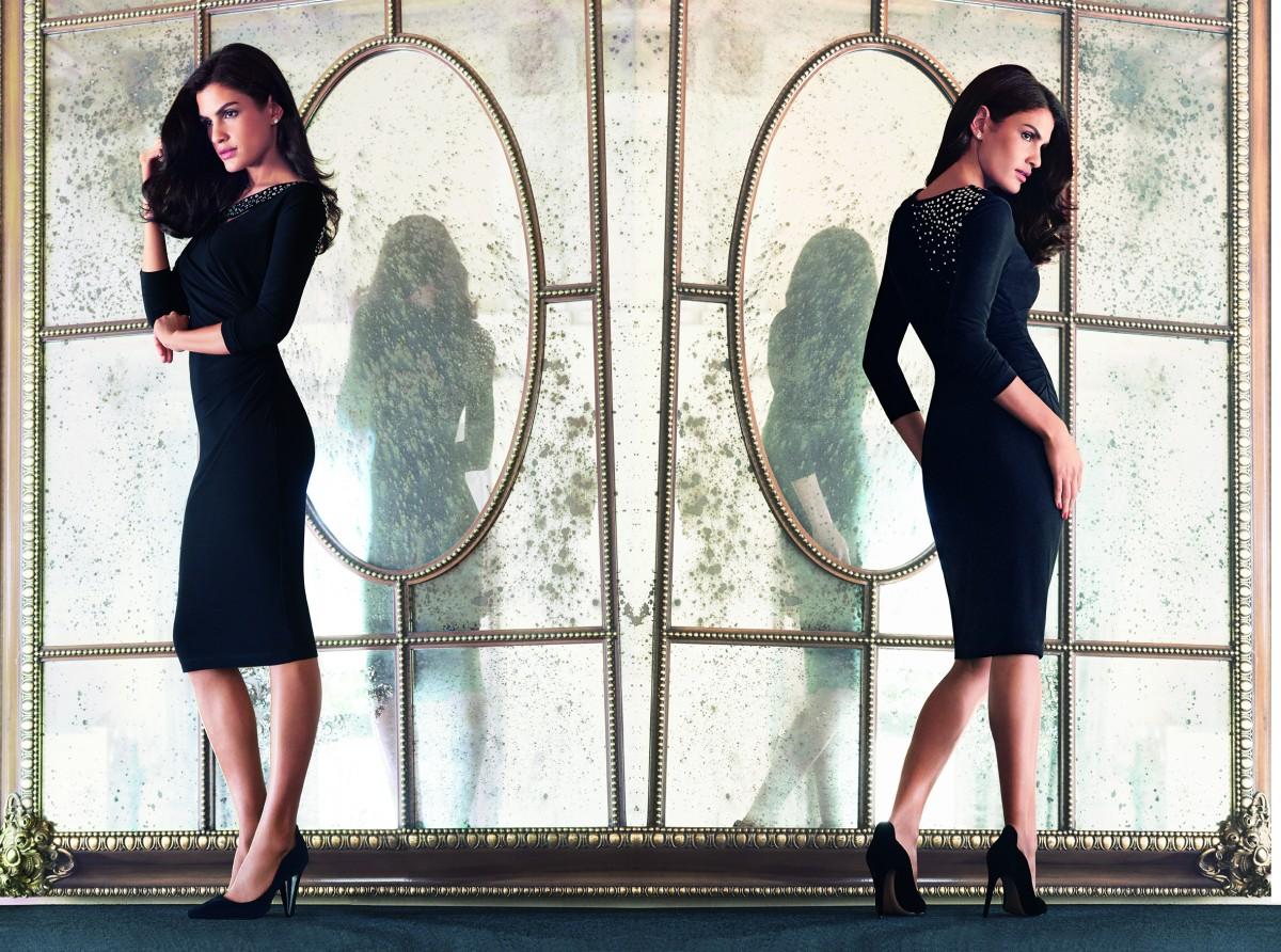 Christmas Gift Guide Lorettas black dress