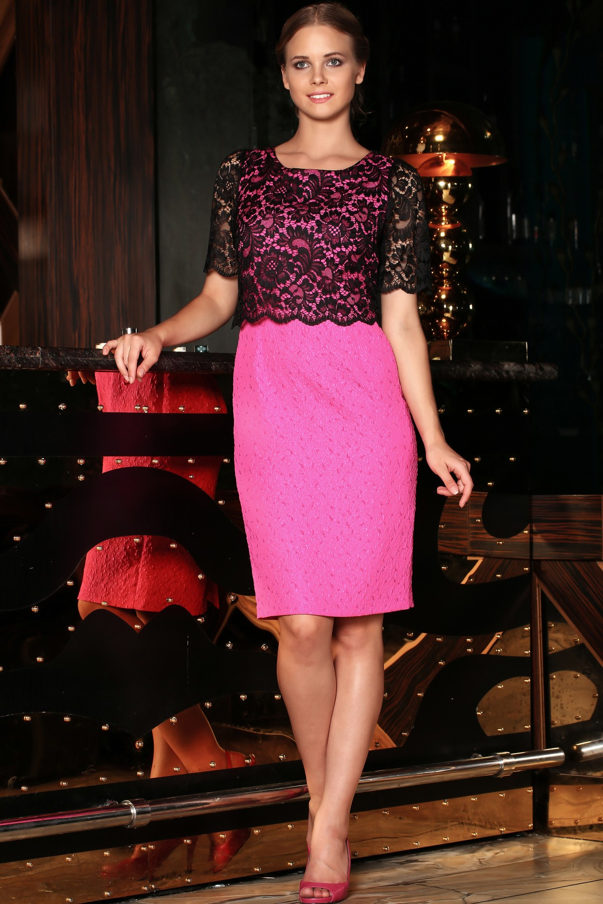 Christmas Gift Guide Marians pink dress