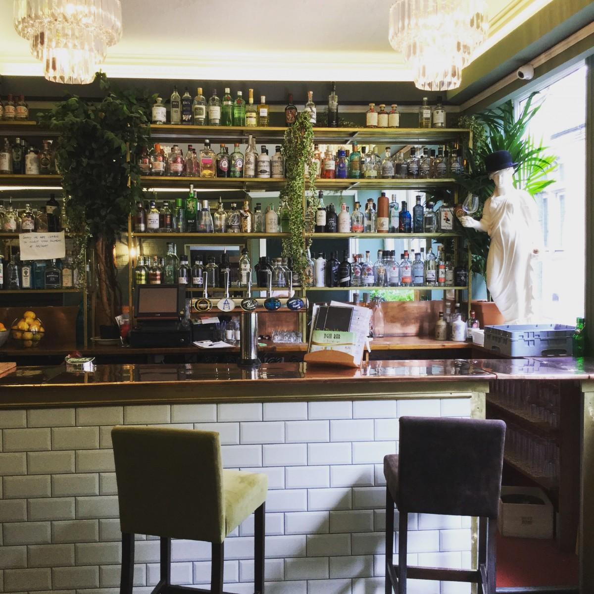 Christmas Gift Guide Venue gin bar