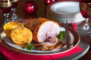 Maple & Mustard Glazed Ham