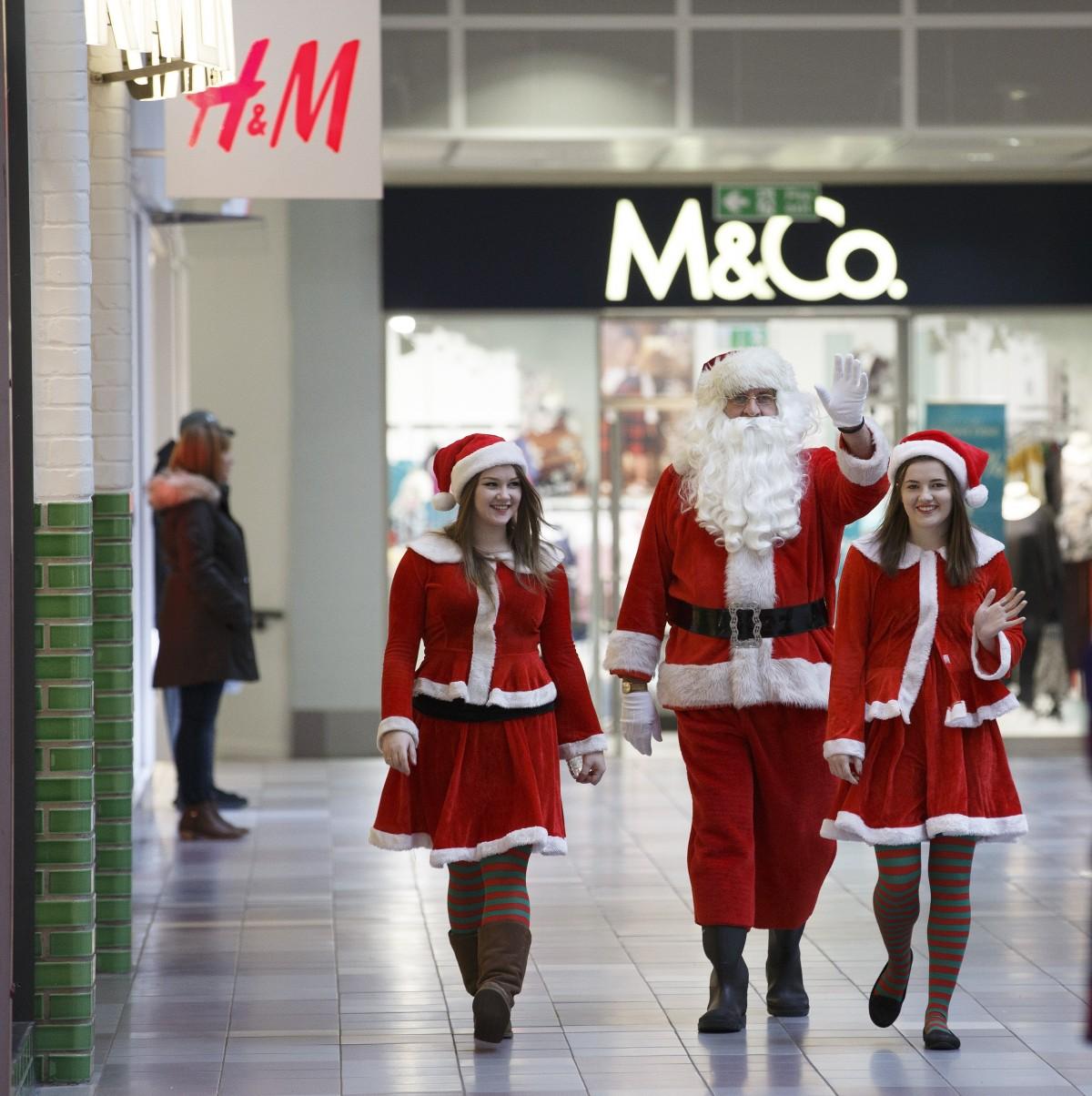 Santa Search St Johns Santa and helpers