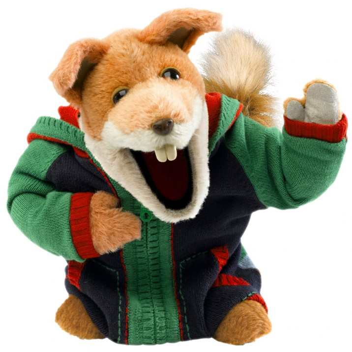 Workdays and Weekends Basil Brush Perth Christmas Lights