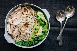 Asian Soy Chicken Noodle Broth