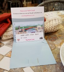 The Perth Gift Card works in the same way as any gift card but for a huge range of independent businesses in Perth.