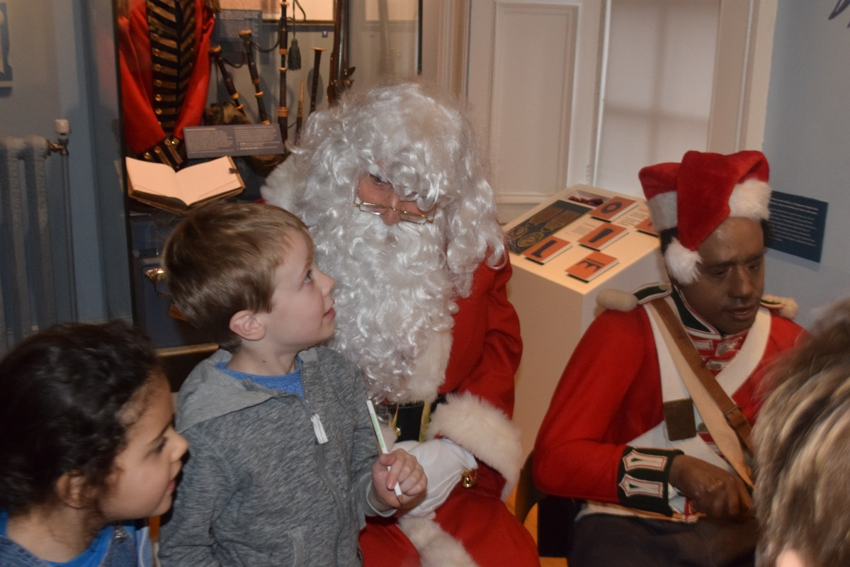 Black Watch Santa Tour
