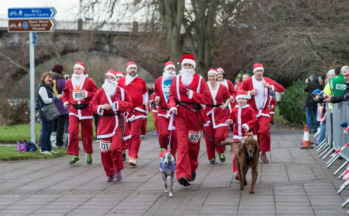 It's an event that the whole city looks forward to every festive season - the Perth Santa Run!
