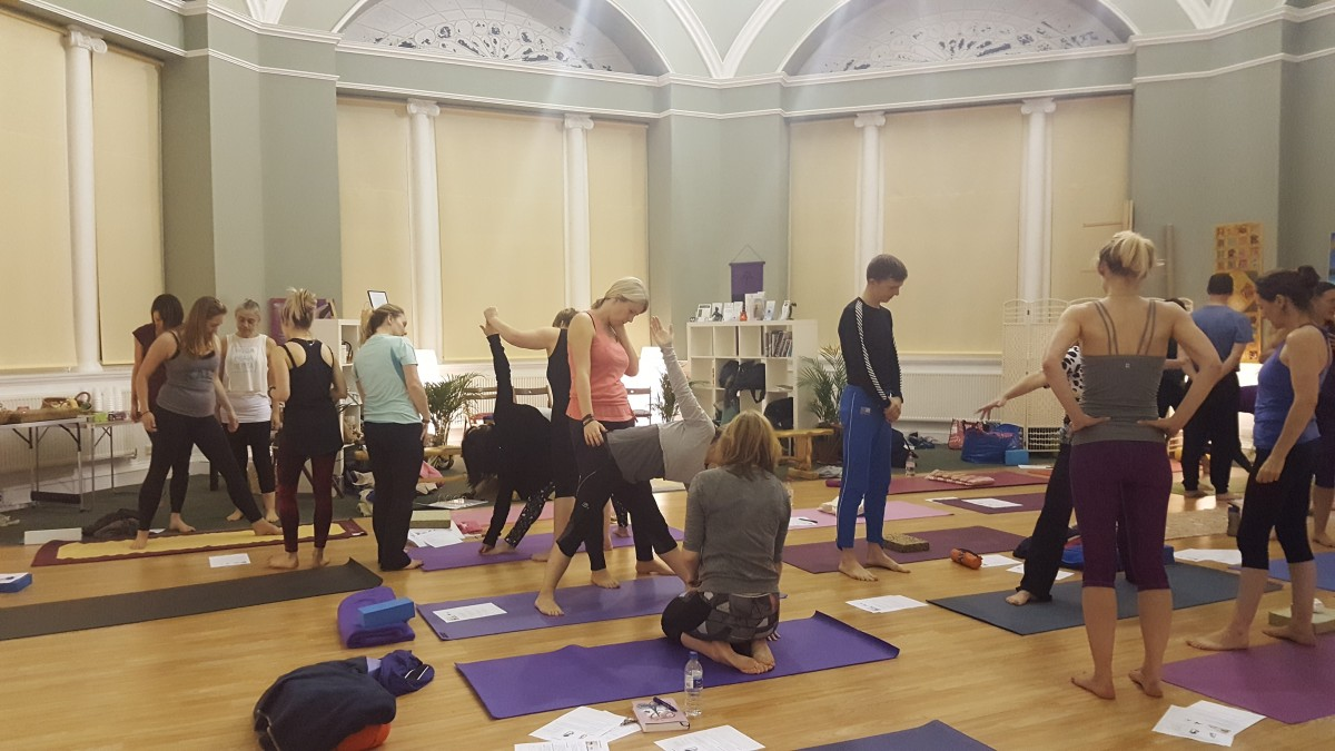 Perth Yoga Studio Wellbeing active class