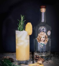Daffy's Gin Winter Goddess Cocktail