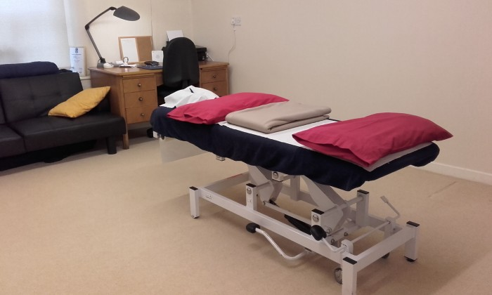 Taylored Massage therapy room