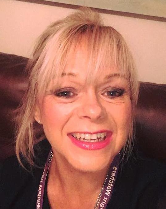 Gill Sievwright lanyard selfie