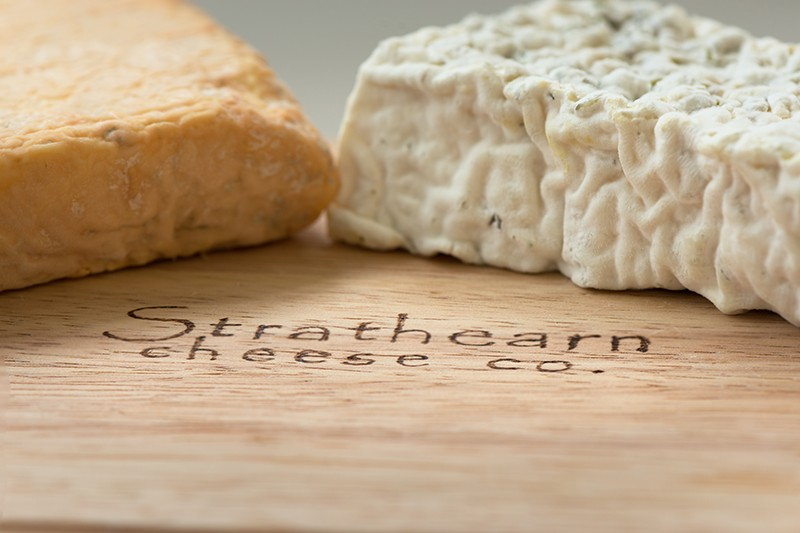 Strathearn Cheese co close up