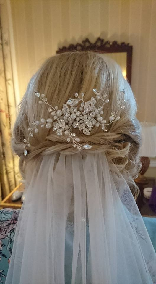 Kirsty MacPherson blonde with veil