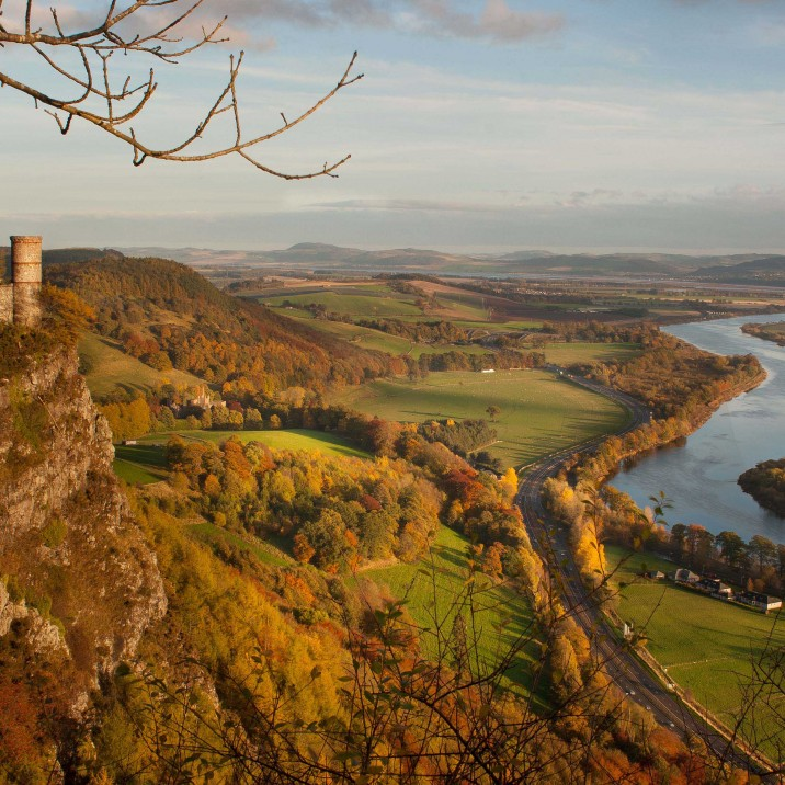 This picture from Kinnoull Hill reminds us just how beautiful Perthshire is..WOW!