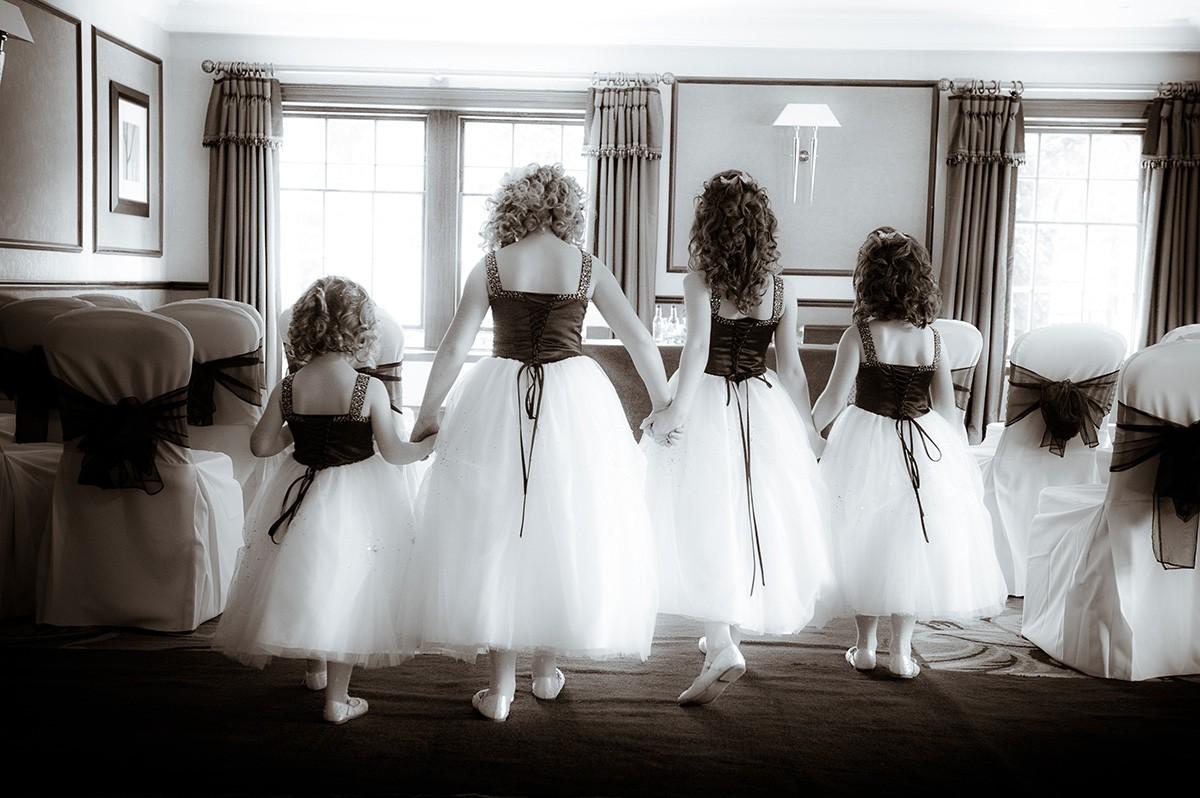 Neil Fordyce flowergirls