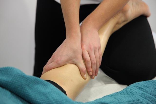 Katie Hill Massage calf