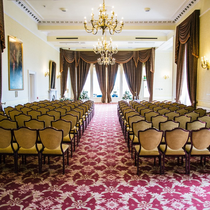 Crieff Hydro Hotel has several spaces which can be used to host wedding ceremonies.