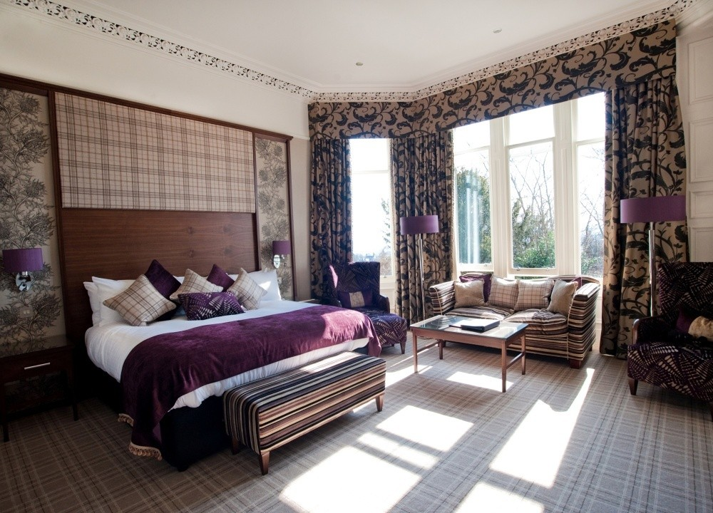 Crieff Hydro bedroom