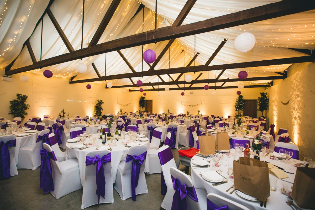 Bachilton Barn Wedding venue Perthshire