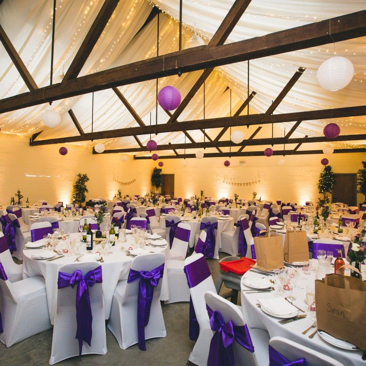 Bachilton Barn is uniquely rural, yet a delightfully modern wedding venue located on 700 acres stunning Perthshire countryside.