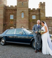 Romance is in the air at Scone Palace