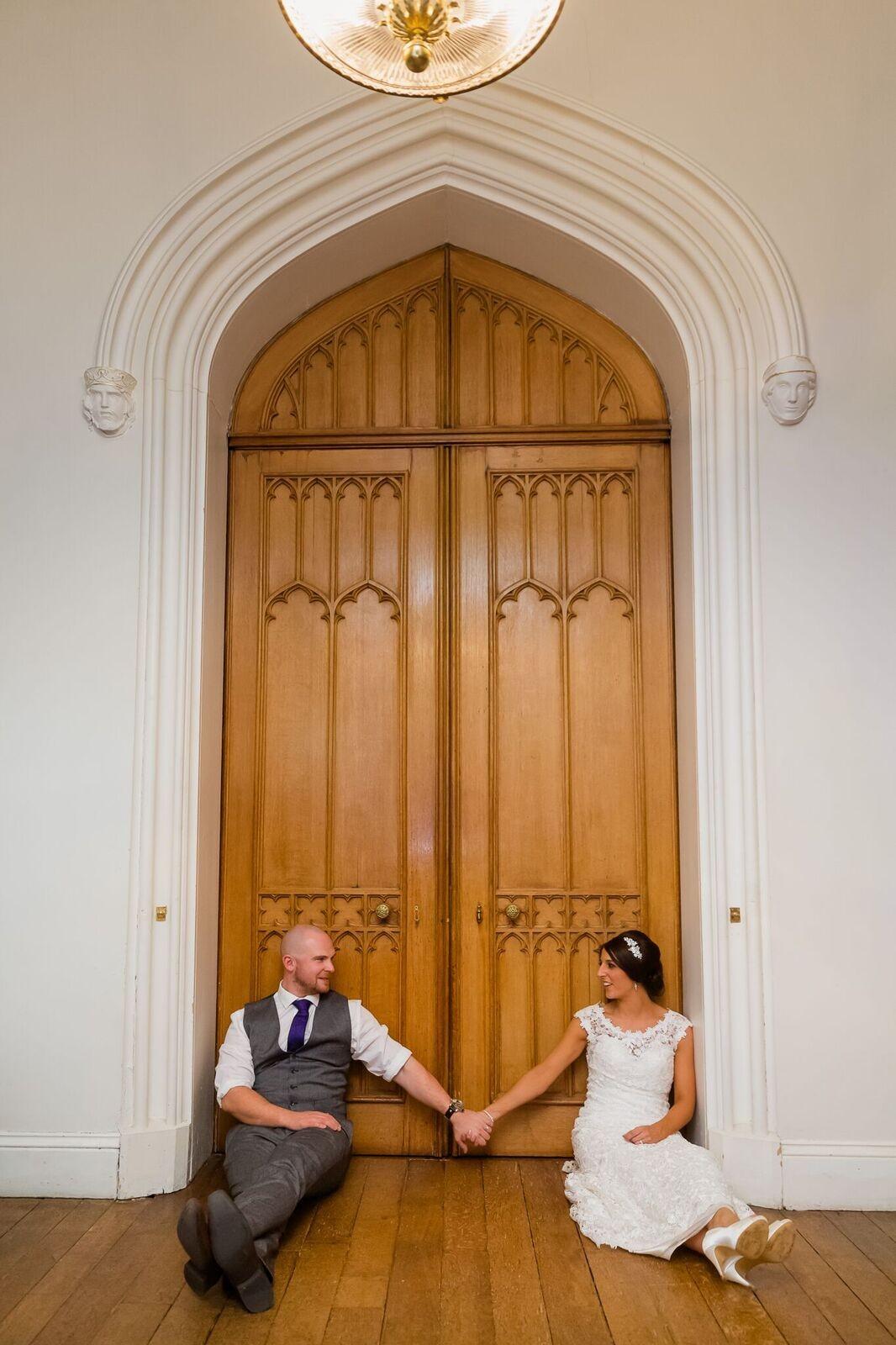 Scone Palace Weddings big door