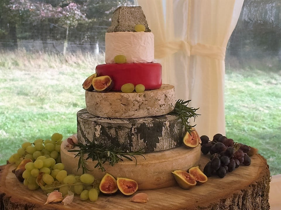 wedding cakes made of cheese scotland provender brown perthshire wedding 24962