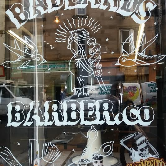 Badlands Barber.