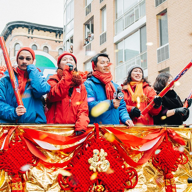The Chinese New Year Celebrations were amazing in New York and Gill was lucky enough to be there!