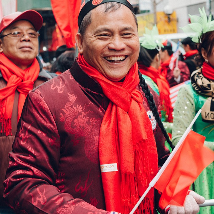 It was a fun, festival atmosphere at the Chinese New Year celebrations 2017 in New York.