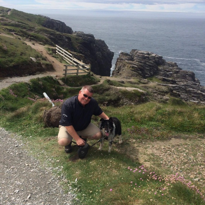 The two loves of my life....Neil McD & Mist! Sent In by Lynne
