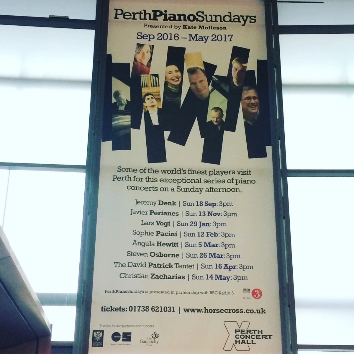 PIANO SUNDAYS - Poster