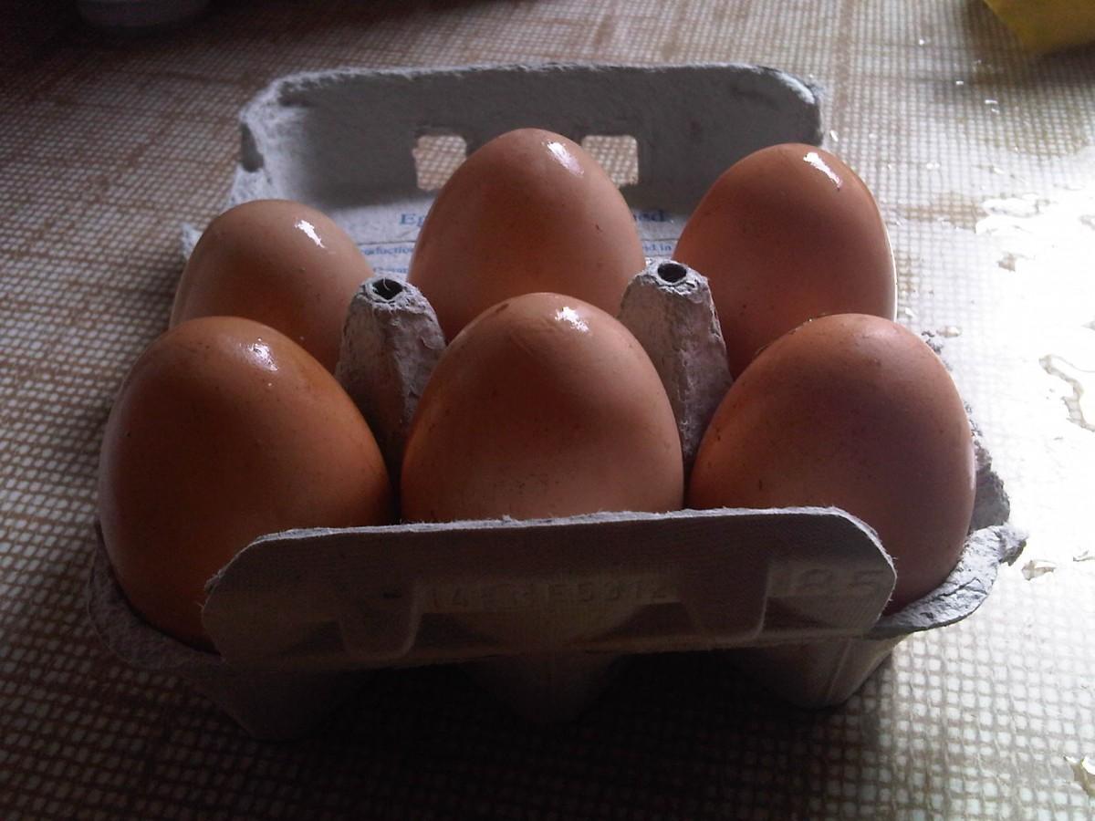 Detox eggs