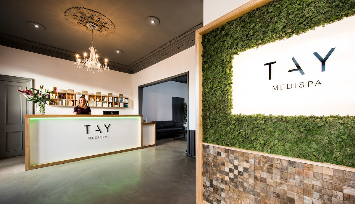 Tay Medispa new reception