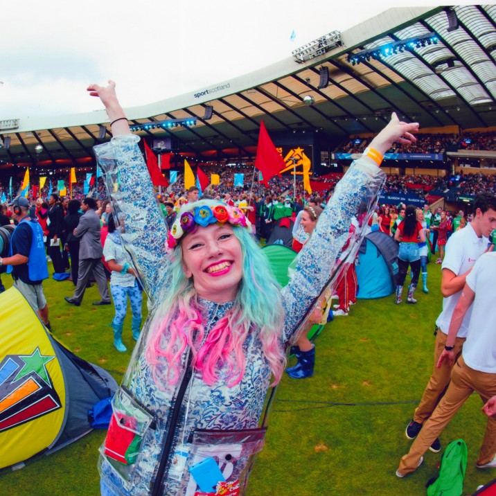 Becky Minto Based is a freelance stage designer and she played an integral part to the design of the Glasgow Commonwealth Games as Associate Designer for the opening and closing ceremonies back in 2014.
