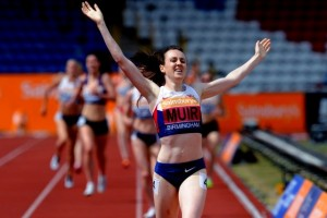Laura Muir The Run Away Winner!