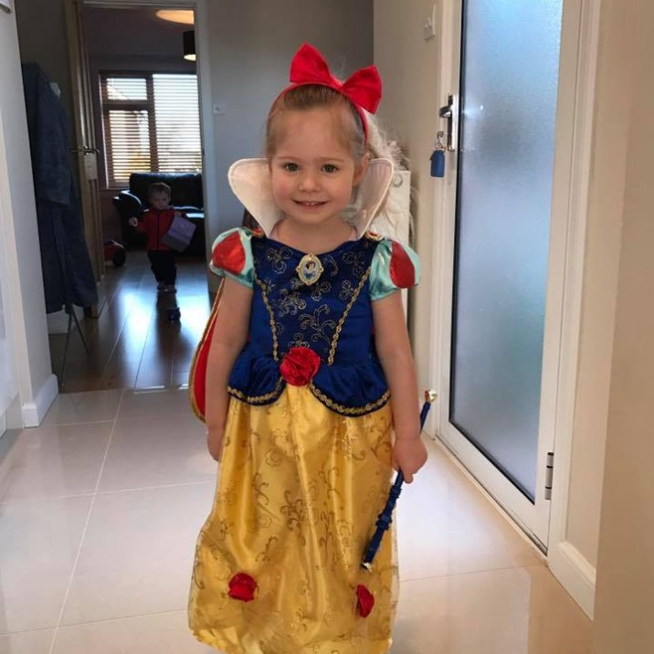 Lily is the perfect Disney princess as Snow White!