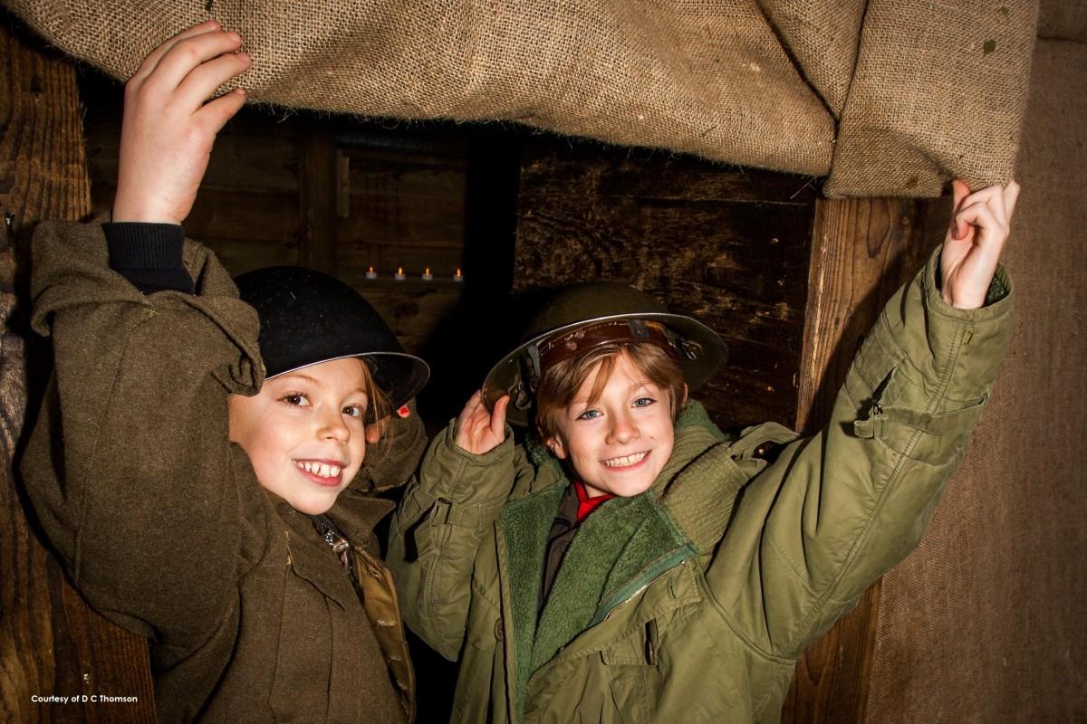 Black Watch Easter kids hats