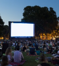 Watch the 1978 classic Grease in the grounds of Scone Palace