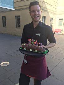 JOSEPH - With cake