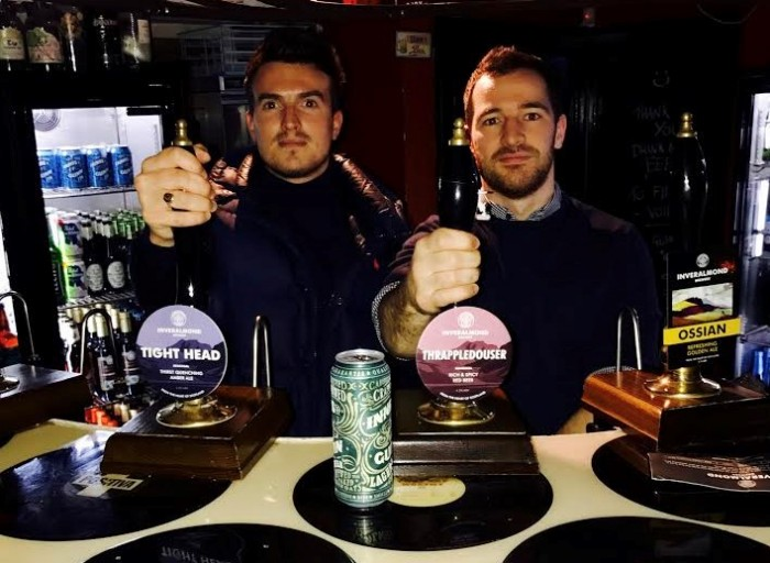 Inveralmond Brewery - Pulling Pints