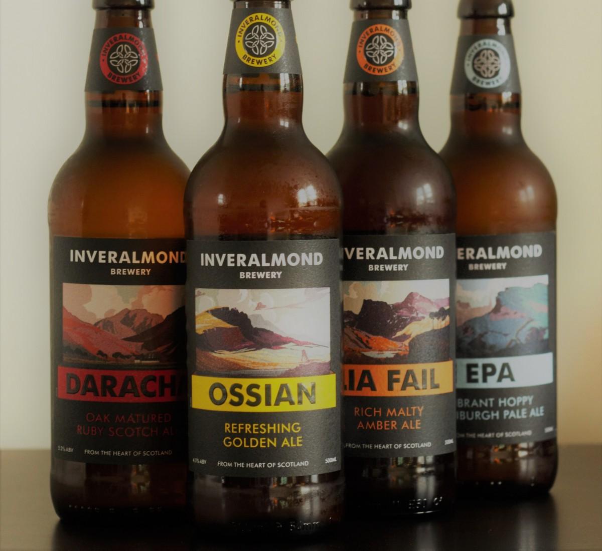 Inveralmond Brewery - bottles